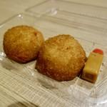 丸健水産 - [2017/11]うにコロッケ(260円/個)