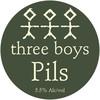 "NZ産クラフトビール""tree boys"" Pils:"