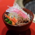 焼肉 綾小路 - サラダ
