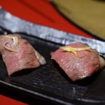 焼肉 綾小路 - 肉寿司