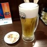 いずみ家 - 生ビール