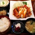 かどい - チキン南蛮定食 \950