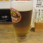 山家 - 生ビール