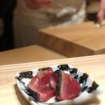 77342418 - 日本海にいる迷いカツオ。                       こういうのが美味いんですね〜