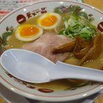 天下一品 - 味付煮卵ラーメン(こってり)