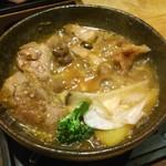 77347735 - 2日目チョイス料理:信州地鶏の胡麻味噌蒸煮