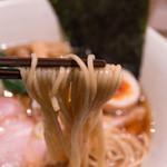 Homemade Ramen 麦苗 - 麺アップ