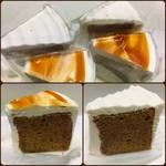 栄喜堂 - 料理写真:シフォンケーキ(紅茶)、紅茶のケーキ