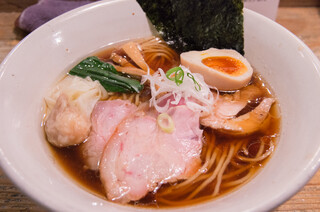 Homemade Ramen 麦苗 - 特製醬油らあめん(990円)