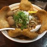 三木ジェット - バリかつジェット野菜増しのうずら煮卵トッピング