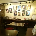 Cafe Chaton Rouge - 猫のポスター