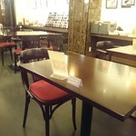 Cafe Chaton Rouge - 店内