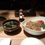 下北あんらく亭 - ふんわり和牛丼(税抜き650円)