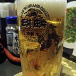 笑笑 - 生ビール