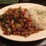 CURRY BAR シューベル - きざみ野菜のチキンキーマ(ハーフ)