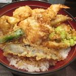 Tempurahisago - 「初夏の天丼」(1,520円)