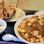 豚福 - 料理写真:中華ランチ(マーボー飯)