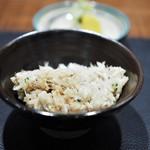 傳 - 銀鱈の炊き込みご飯