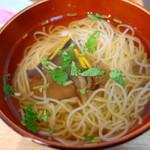 天丼つちや - 柔麺