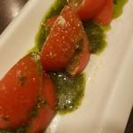 おしどり - バジルトマト