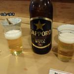 大衆割烹 三州屋 - 瓶ビール大で乾杯