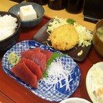 鉄火 - 刺身定食