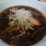 眞麺 穂高 - 醤油