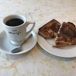 cafe marji - 料理写真:シナモントーストモーニング500円(税込)