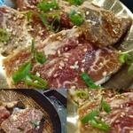 立喰☆焼肉 - 名物韓熟牛だくカルビ