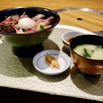 よかよか亭 - [2017/11]あか牛丼(1500円+税)