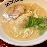 麺徳 - 味玉ラーメンこってり780円
