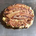 お好み焼き ぽんぽこりん - 料理写真:納豆ネギ焼き972円