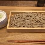 中村麺兵衛 - 十割もりそば(¥390)