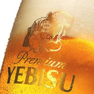 ★サッポロ・エビス樽生ビール付★生意気な飲み放題コース