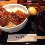 77365276 - まんまる丼(お新香・お吸い物付き・1000円)