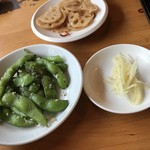 77365675 - 前菜と小籠包の生姜