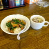 南京亭 - 料理写真:ミニレバニラ丼470円