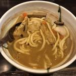 活麺富蔵 - カレールー2個目投入 ※かなり濃厚に