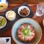 藤香想 - 陸 RIKU  ローストビーフ・副菜・とろろ汁・みそ汁