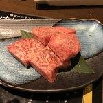 焼肉燦家 - 飛騨牛サーロインステーキ