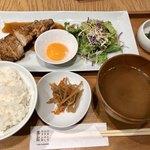 鳥勘助 - 大山鶏たれ焼き定食