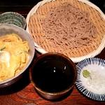 和楽 - ミニ親子丼セット 930円
