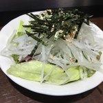 いきなりステーキ - 和風サラダセット(350円)
