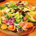 妙典 彦酉 - トリュフのサラダ