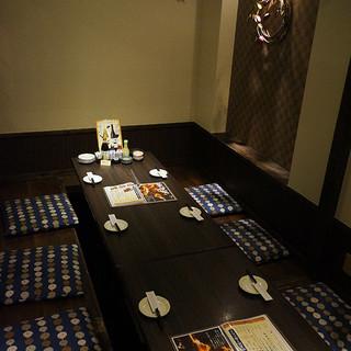 『藁家88』の充実!宴会個室