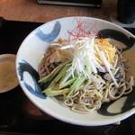 蕎肆 穂乃香 - 「両国黄金ぶっかけ」