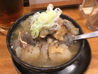 焼とり よね田 中野店 - 牛すじと大根の煮込み(小)380円