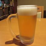 旬菜‐小豆 - ビール
