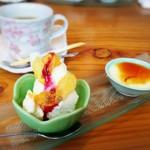 美食 あじ咲く - ★デザート・コーヒー