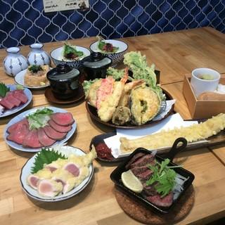 姫路の天ぷら酒場